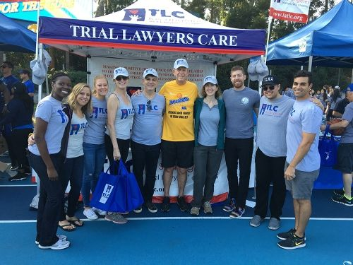 Lauren Wood at Los Angeles Trial Lawyers' Charity Event
